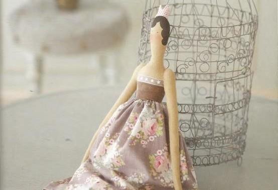 Кукла ручной работы Тильда